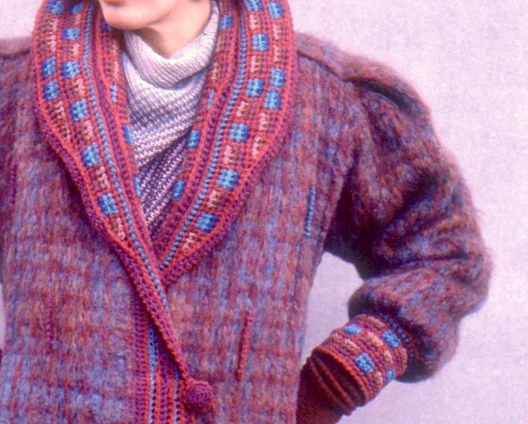 Upholstered Coat Series, 1983