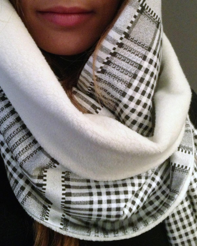 Gray Dobby - knit