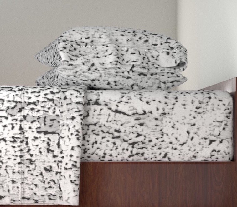 "Sheet Set ""Smoke Cheetah"""