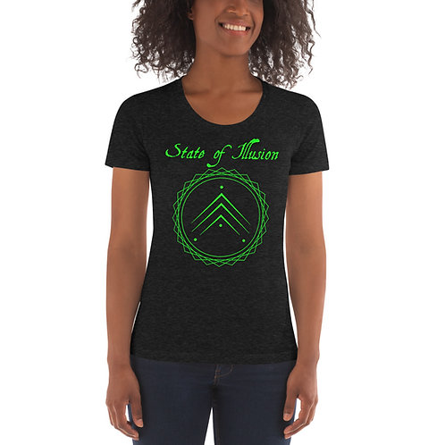 Women's Green Logo Tee