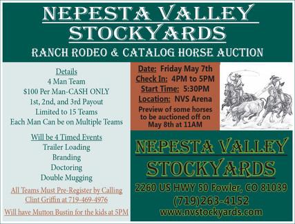 Nepesta Valley Stockyards 4x3'75 4-29-21
