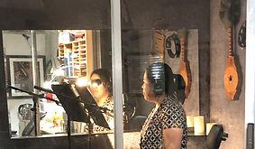 RECORDING SESSION AT MOONLIGHT STUDIOS,