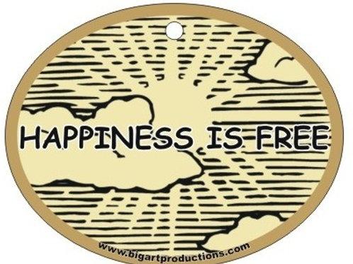 HAPPINESS IS FREE  SUNSHINE - AIR FRESHENER
