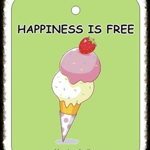 HAPPINESS IS FREE - ICE CREAM