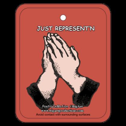 Just Represent'n Air Freshener