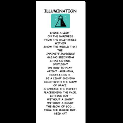 Illumination Bookmark