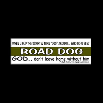 Road Dog Bumper Sticker