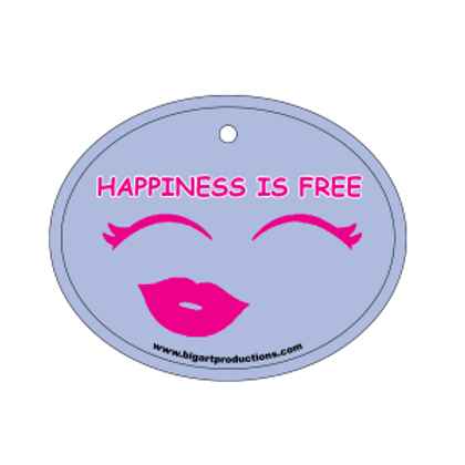 Happiness is Free Diva Air Freshener