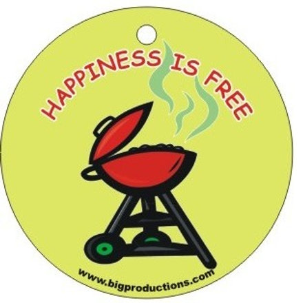 HAPPINESS IS FREE - GRILL