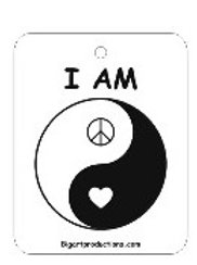 I AM - YIN/YANG (BLACK)
