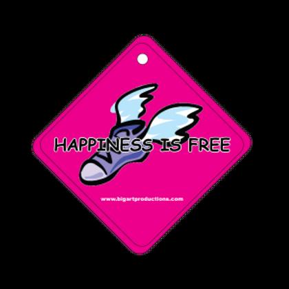Happiness is Free Runner Air Freshener