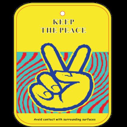 Keep the Peace Air Freshener