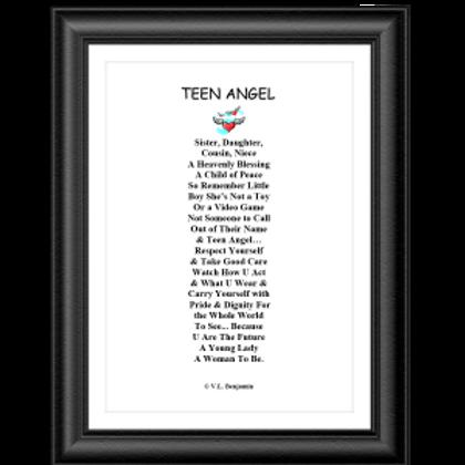 Teen Angel Poster