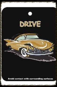DRIVE  AIR FRESHENER (BLACK)