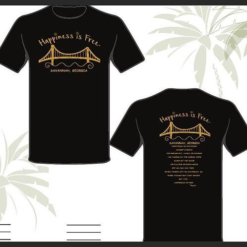 Happiness Is Free Savannah Shirt