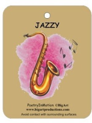 PIZZAZZ OF JAZZ AIR FRESHENER