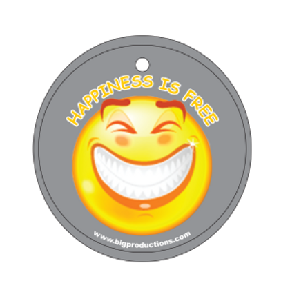 Happiness is Free Grin Air Freshener