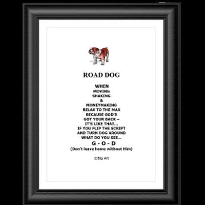 Road Dog Poster