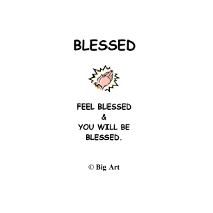 Blessed Bookmark