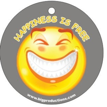 HAPPINESS IS FREE - GRINNING