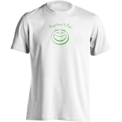 Happiness Is Free Grin t-shirt