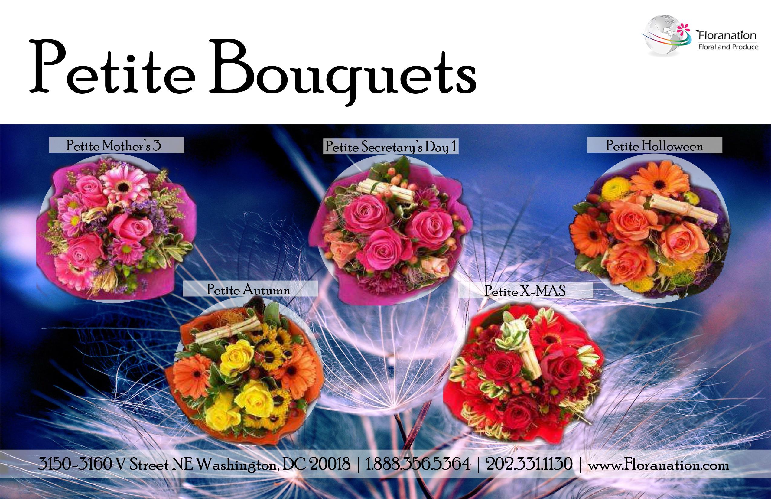 Pettite Bouquets