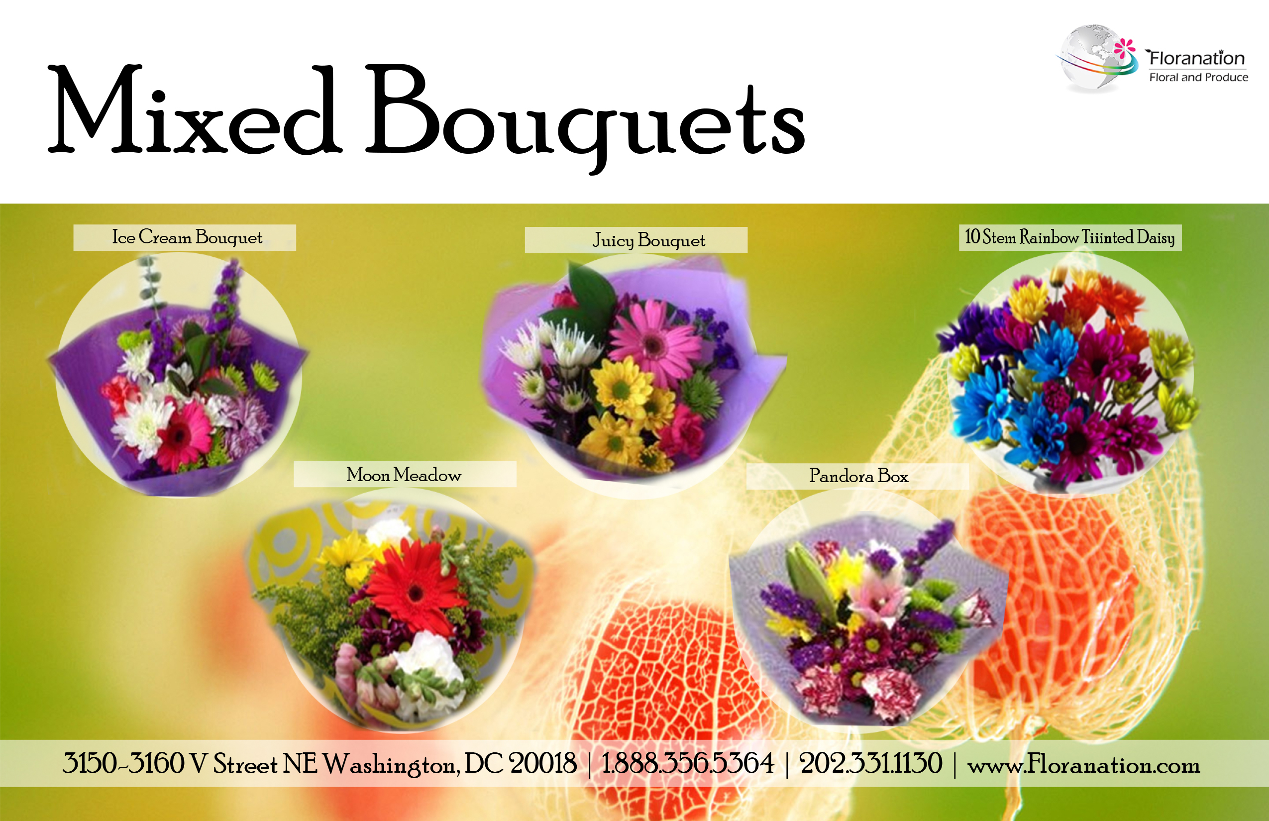 Mixed Bouquets