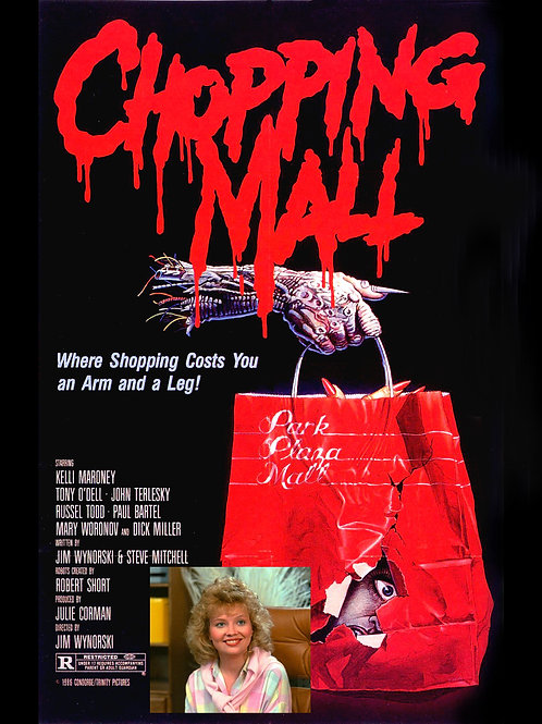 Kelli Maroney Chopping Mall Poster