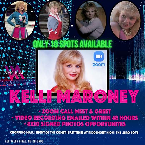 Zoom 5-Minute Meet & Greet with Kelli Maroney