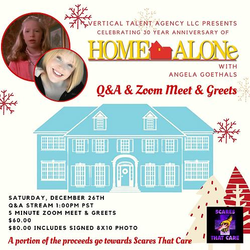 Zoom 5-Minute Meet & Greet with Angela Goethals