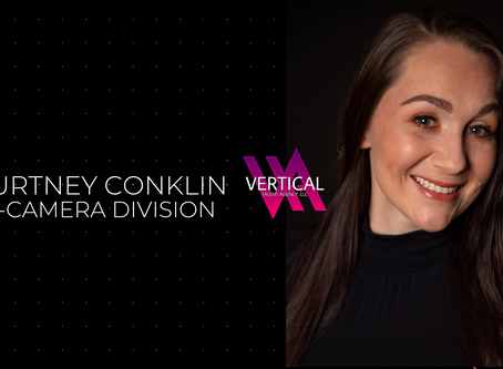 Courtney Conklin joins the new On-Camera Division at Vertical Talent Agency LLC