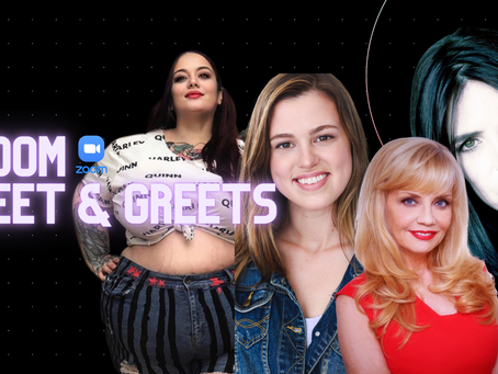 Zoom Meet & Greets LIVE NOW