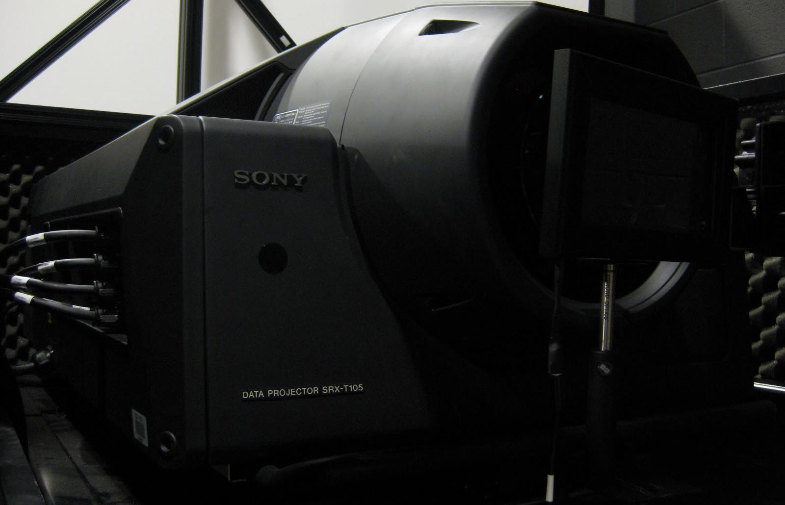 SONY SXRD 4K DIGITAL CINEMA