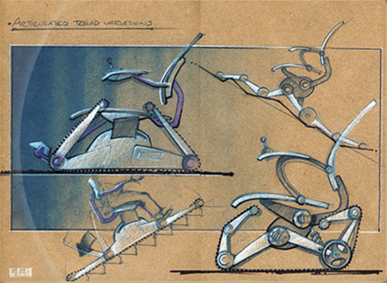 Tracked Mobility Chair Concept, 1999