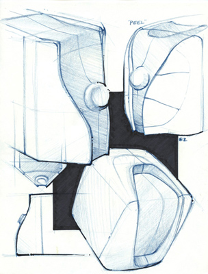 Sony Mini System Ideation, 2004