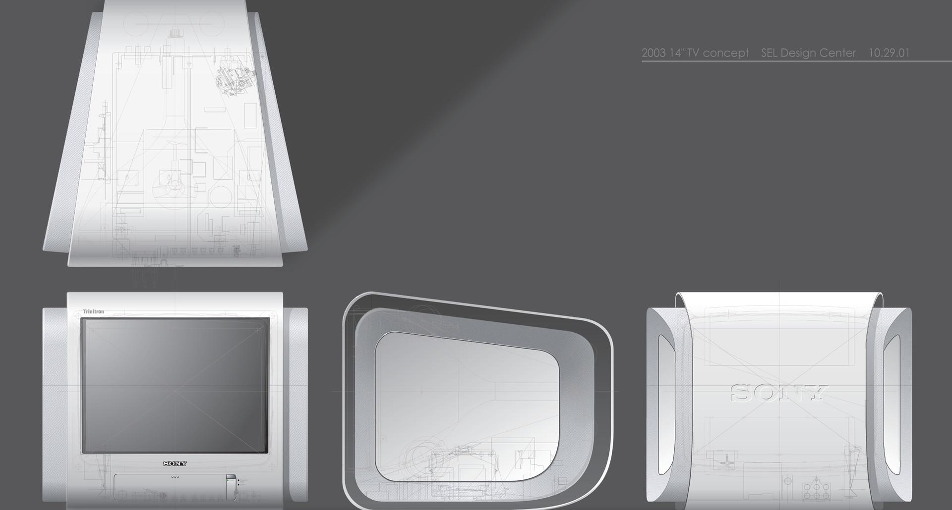 SONY TV CONCEPT 2001