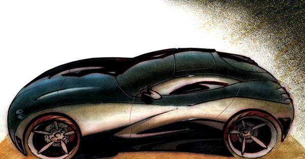 Corvette Concept, 1996
