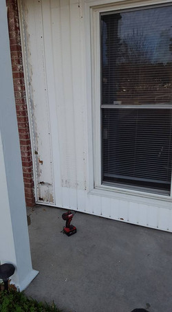 Window prior to Removal