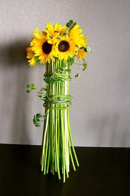 Le Bouquet moderne Tournesol