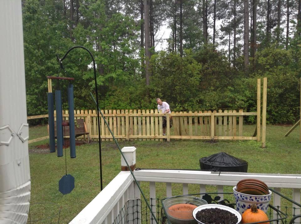 Fence -Weatherstone
