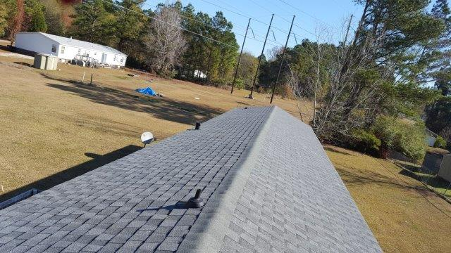 New Roof Close Up