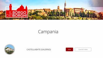 Castellabate in den Vorwahlen zum schönsten mittelalterlichen Dorf
