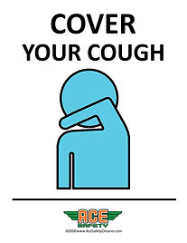 COVID-19 - COVER YOUR COUGH - ACE SAFETY
