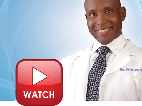 Doctor Moore's WIWU TV Interview