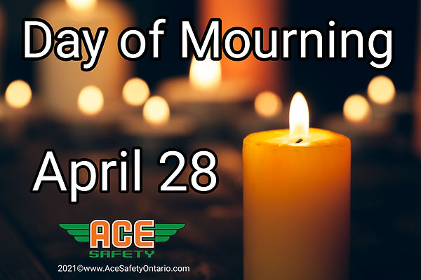 The National Day of Mourning - Canada