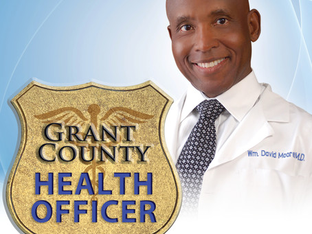 Appointed Grant County's Health Officer!