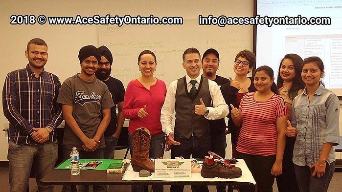 Guest Speaker at Centennial College Ontario