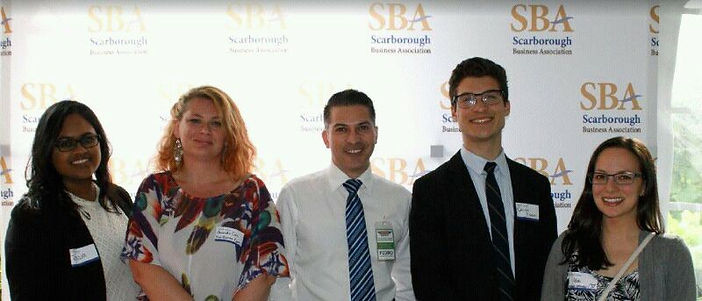 Networking at The Scarborough Business Association