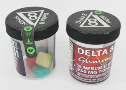Delta-8 Gummi Squares