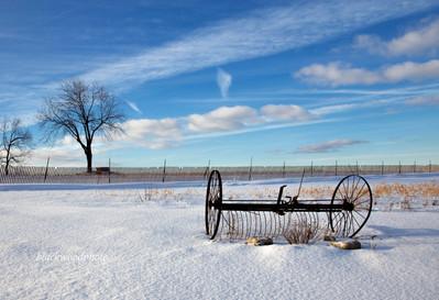 Peter Blackwood, Winter Farm